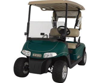 on golf cart diions and types