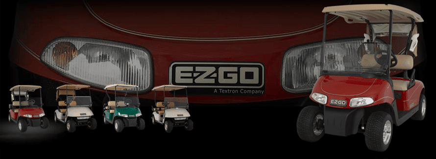 EZGO Personal Golf Cars