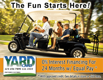 Yard Card Golf Cart Financing