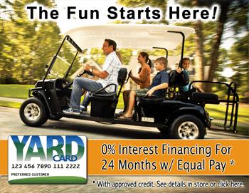 Yard Card Golf Cart Financing